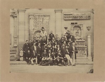 Students of theÉcole beautiful de paris Photography Vintage Albumin