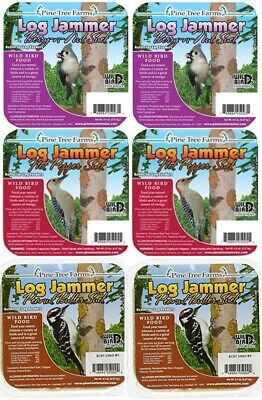 Pine Tree Farms Suet Variety 6 Pack Log Jammers
