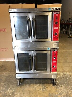 Vulcan VC6GD Double Stack Natural Gas Convection Oven WORKS GREAT!