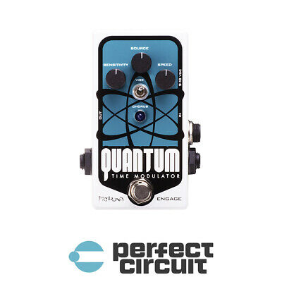 Pigtronix Quantum Time Modulator Delay Pedal EFFECTS - DEMO - PERFECT CIRCUIT