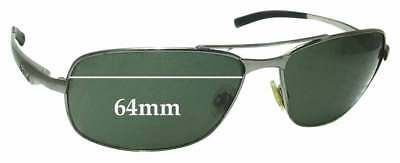 SFx Replacement Sunglass Lenses fits  Bolle Skylar - 64mm Wide