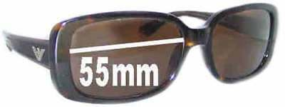 fbf59d3b34a1 SFx Replacement Sunglass Lenses fits EMPORIO ARMANI 9547/S - 55mm wide
