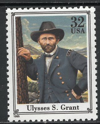 Ulysses S Grant ** Union General ** Us Postage Stamp Mnh