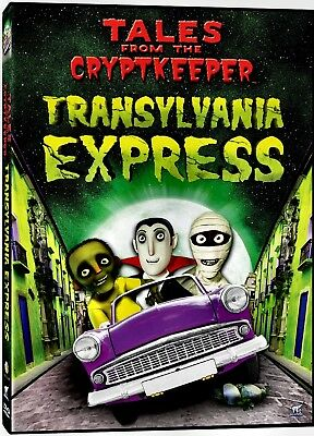 NEW DVD // TALES FROM THE CRYPT KEEPER - 170min - TRANSYLVANIA EXPRESS