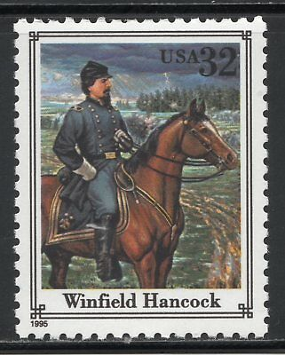 Winfield Hancock ** Union General ** Us Postage Stamp Mint