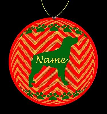Brittany Spaniel Dog Breed Personalized Christmas Ornament