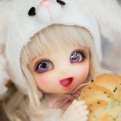 1/8BJD Doll BJD/SD BB lovely PongPong Doll Toy Only With Free Eyes For Girl Gift