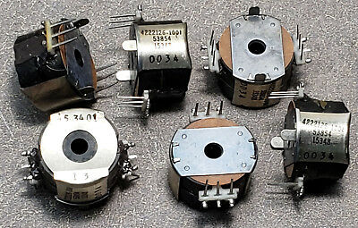 Lot of 6 Honeywell aerospace INDUCTORS Part No. 4222126-1001 These items are new