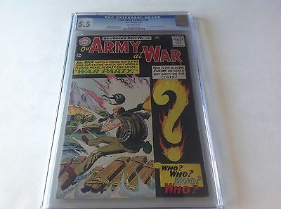 Our Army At War 151 Cgc 5.5 Joe Kubert Collection Copy 1St Enemy Ace Dc Comic