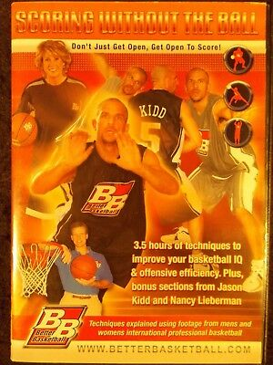 Scoring Without The Ball (DVD 2006) Better Basketball Jason Kidd/Nancy Lieberman