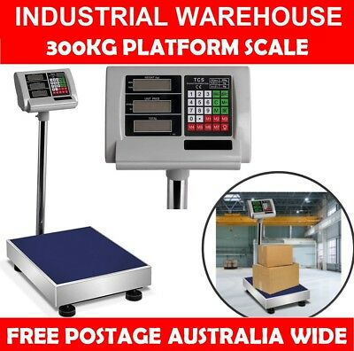 Electronic Digital Weight Measuring Scale Platform Shop Business Warehouse 300kg