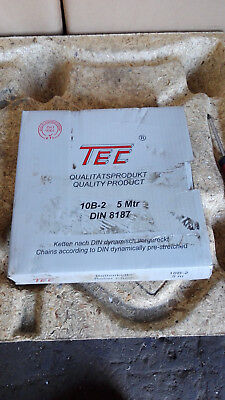 Tec Roller Chain / Type: 10b-2 (5 Meter) / Din 8187/New/Original Package