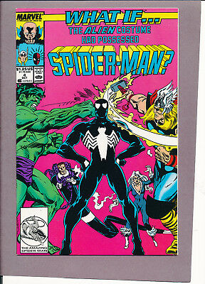 What If 4  The Alien Costume had Possessed Spider-man Venom JCPenny Variant NM+