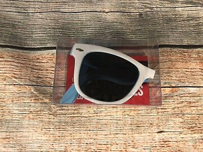 Captain Morgan Rum Promotional Sunglasses Smooth Shades White and Blue NEW