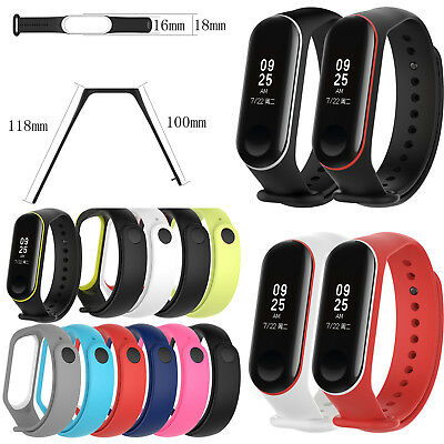 10x Silicone Replacement Wrist Band Strap for XIAOMI MI Band 3 Smart Tracker New