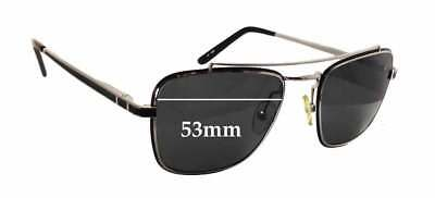 f99cf9a8712 SFx Replacement Sunglass Lenses fits Linda Farrow LUXE - 53mm wide x 43mm  tall