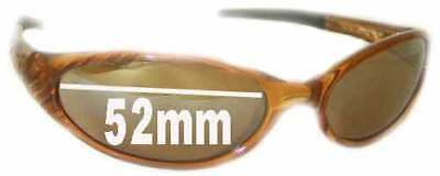 SFx Replacement Sunglass Lenses fits Bolle Sizzle - 52mm Wide