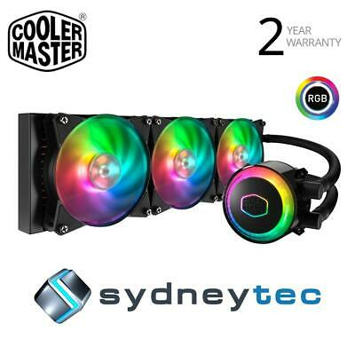COOLER MASTER MASTERLIQUID ML120L 120 RGB CPU Cooler - $82 00