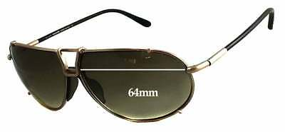 778e3e2d8128c SFX REPLACEMENT SUNGLASS Lenses fits Tom Ford FT0009 Whitney - 64mm ...