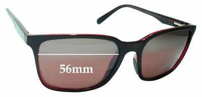 5210ccd548 SFx Replacement Sunglass Lenses fits Maui Jim Wild Coast STG-BG MJ756 -  56mm wid