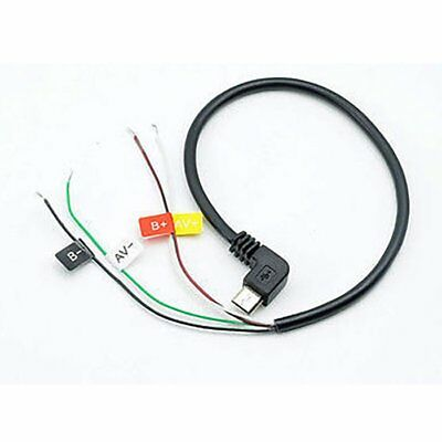 QUMOX USB to AV out Cable for SJ4000 Action camera cam