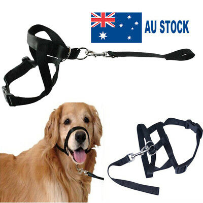 Dog Halter Halti Training Head Collar Pulling Gentle Leader Harness Strap S-XL