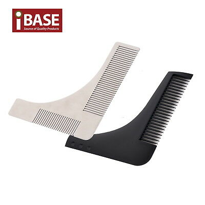 Beard Shaping Template Comb Styling Barber Tool Symmetry Trimming Shaper Stencil