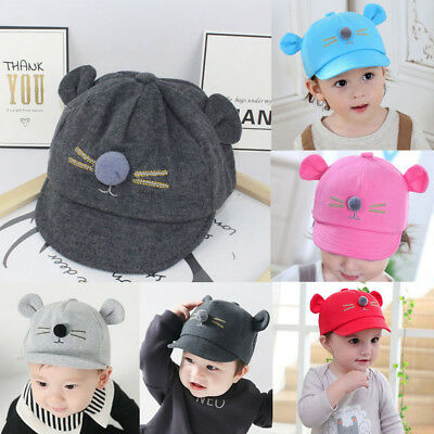 f7bda224c BABY BOYS GIRLS Baseball Beret Kids Cap Children Toddler Infant Hat ...