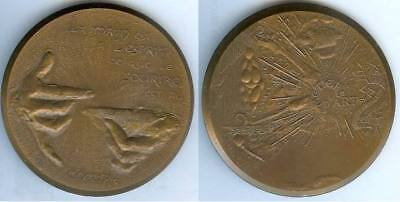 Médaille de table - METIERS D'ART 1979 Serge SANTUCCI d=82mm