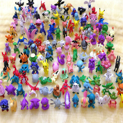 "Pokemon Monster 144pcs/set 1"" Not Repeating Kids Action Figure Toys"