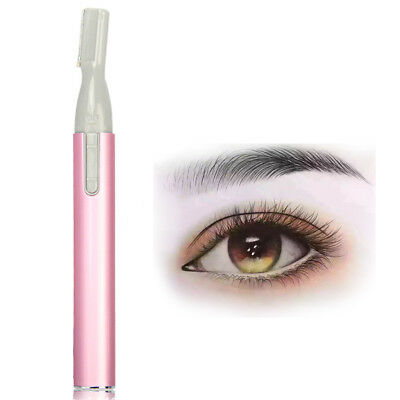 UK Women Painless Facial Face Body Flawless Hair Removal Remover Trimmer Shaver
