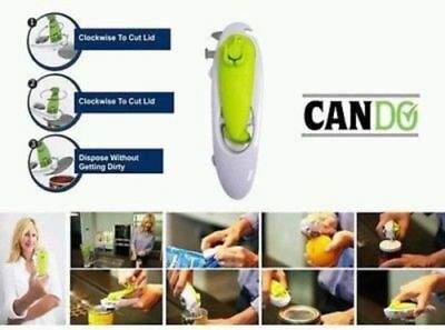 JML CanDo 8 In 1 Ultimate Kitchen Tool Can Bottle Opener Fruit Skin Remover