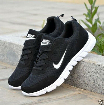 Men Women SHOES LADIES PUMPS TRAINERS LACE UP MESH SPORTS RUNNING CASUAL