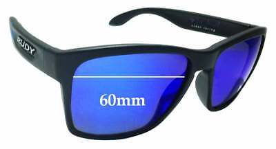 SFX Replacement Sunglass Lenses fits Rudy Project Noyz 67mm Wide