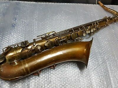 1957 HOLTON COLLEGIATE TENOR SAX / SAXOPHONE - made in USA