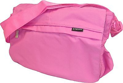 New Babzee Baby Nappy Changing Bag Messenger Bag with Change Mat Pink