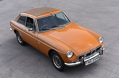 1975 MGB GT V8 Original factory car - matching numbers and heritage certificate