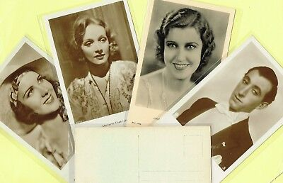 ROSS VERLAG - 1930s Film Star Postcards produced in Germany #5657 to #5772
