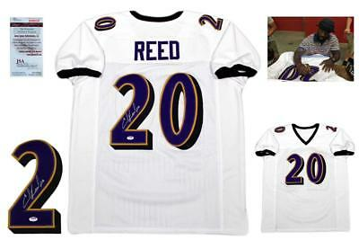 detailed look c00ca dd455 ED REED AUTOGRAPHED SIGNED Jersey - JSA Witnessed Authentic w/ Photo - White