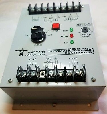 Used Time Mark Corp.  Model 412 Automatic Reverse Controller 115V