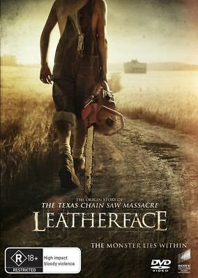 Leatherface Dvd, New & Sealed, 2018 Release, Region 4, Free Post