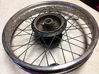 "Yamaha DT175 (91) REAR WHEEL 18"" . (PARTS AVAILABLE)"