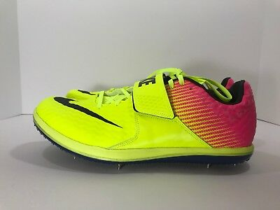 brand new 09ee0 6fd34  New  Nike Zoom HJ Elite High Jump Track Spikes Men s Size 12 Rio 806561