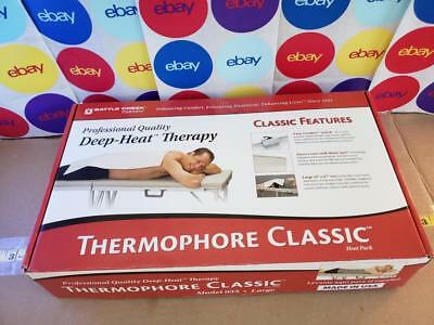 "Thermophore 055 Classic Deep Heat Moist Therapy Pad Large 14"" X 27"" New Open Box"