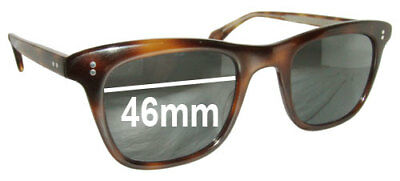 4728749086 SFx Replacement Sunglass Lenses fits Oliver Peoples Lukas - 46MM wide