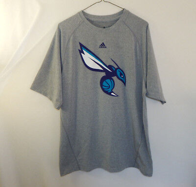 eb96c96086480 NEW ADIDAS NEW Orleans Hornets NBA Basketball Teal Short Sleeve T ...