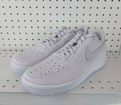 e5563bc3b91 Nike AF1 Ultra Flyknit Low Air Force 1 Light Violet Men Casual Shoes 817419- 500