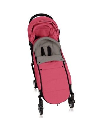 BabyZen Hooded Footmuff PINK-fits ZEN & YOYO strollers (Stroller Not Included)