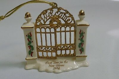 2004 Lenox First Year In Our New Home - Golden Gate Christmas Ornament
