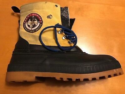 049a24b27e8493 Men Vintage Tommy Hilfiger Expedition Series Steel Shank Insulated Boots  Size 11